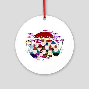 Gnomeses Ornament (round)