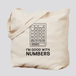 I'm Good With Numbers Tote Bag