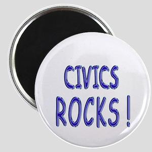 Civics Rocks ! Magnet