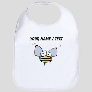 Custom Funny Bee Bib