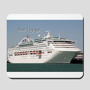 Bon Voyage: cruise ship Mousepad