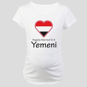 Happily Married Yemeni Maternity T-Shirt