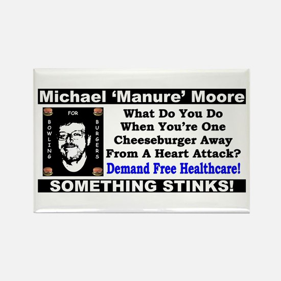 """Michael Moore: Bowling for Burgers"" Mag"