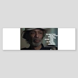 Gil Scott-Heron Bumper Sticker