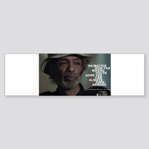 Gil Scott-Heron Bumper Sticker