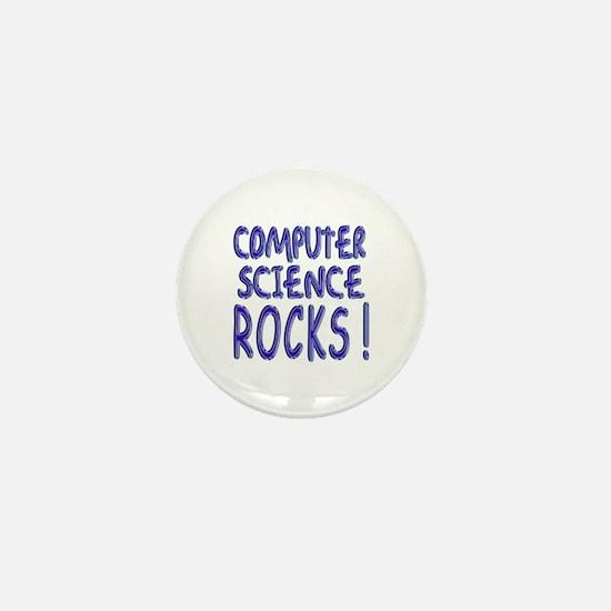 Computer Science Rocks ! Mini Button
