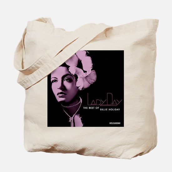 Billie Holiday Lady Day Tote Bag