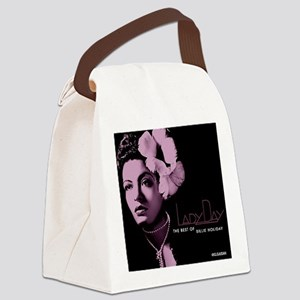Billie Holiday Lady Day Canvas Lunch Bag