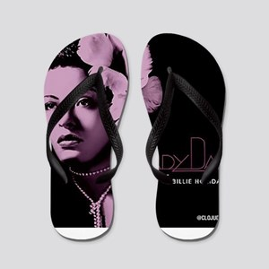 Billie Holiday Lady Day Flip Flops