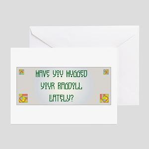 Hugged Ragdoll Greeting Cards (Pk of 10)