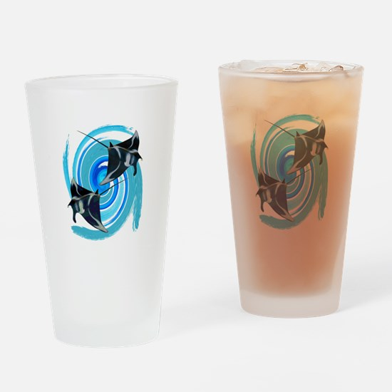 IN FORMATION Drinking Glass
