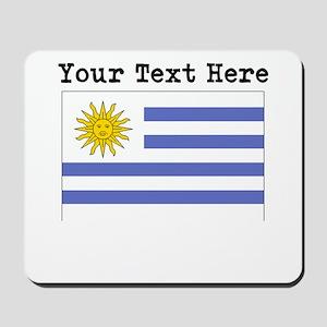 Custom Uruguay Flag Mousepad