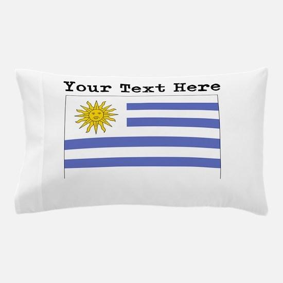 Custom Uruguay Flag Pillow Case