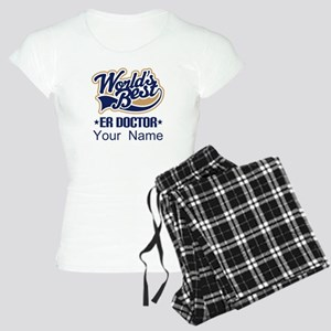 ER Doctor Personalized Women's Light Pajamas