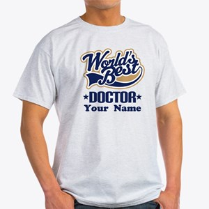 Doctor Personalized Light T-Shirt