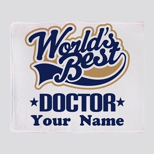 Doctor Personalized Throw Blanket