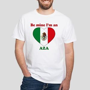 Aza, Valentine's Day White T-Shirt