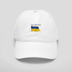 Custom Ukraine Flag Baseball Cap