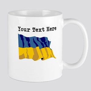 Custom Ukraine Flag Mugs