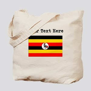 Custom Uganda Flag Tote Bag