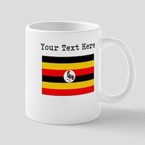 Custom Uganda Flag Mugs