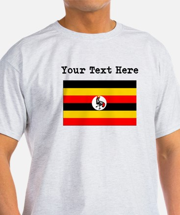 Custom Uganda Flag T-Shirt