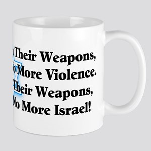 """Israel: Right To Life!"" Mug"