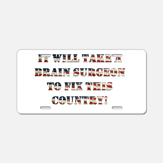 BC2016 Aluminum License Plate