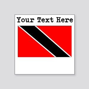 Custom Trinidad And Tobago Flag Sticker