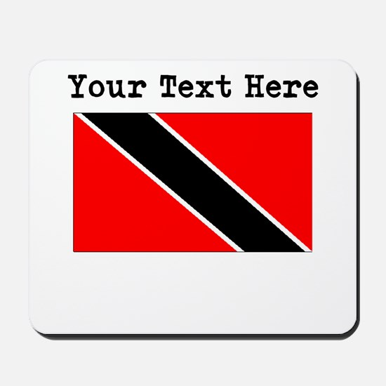 Custom Trinidad And Tobago Flag Mousepad