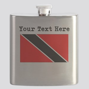 Custom Trinidad And Tobago Flag Flask