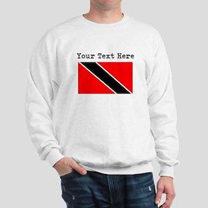 Custom Trinidad And Tobago Flag Sweatshirt