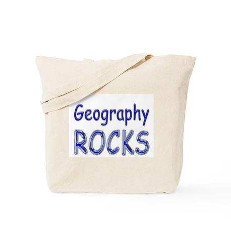 Geography Rocks Tote Bag