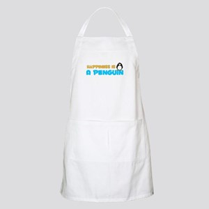 Penguin Happiness BBQ Apron