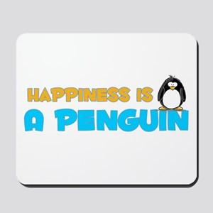 Penguin Happiness Mousepad