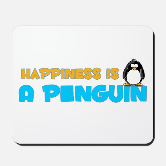 Penguin Happiness Mousepad