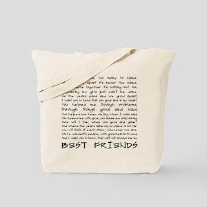 Best friends Tote Bag