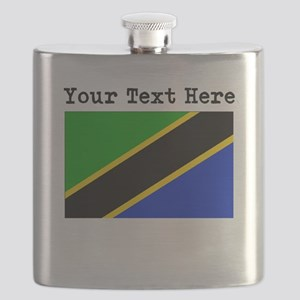 Custom Tanzania Flag Flask