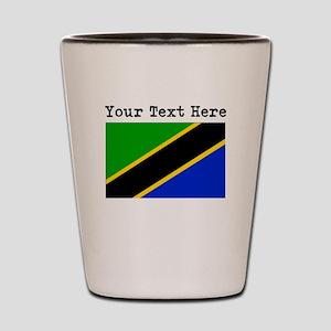 Custom Tanzania Flag Shot Glass