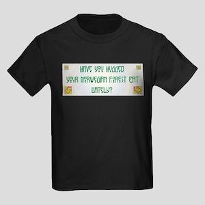 Hugged Wegie Kids Dark T-Shirt