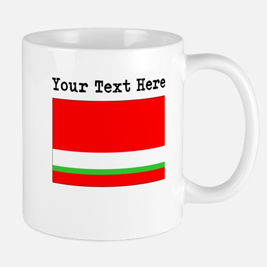 Custom Tajikistan Flag Mugs