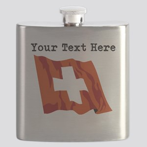 Custom Switzerland Flag Flask