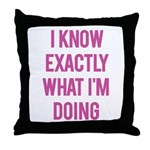 I Know... Throw Pillow