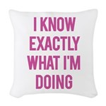 I Know... Woven Throw Pillow
