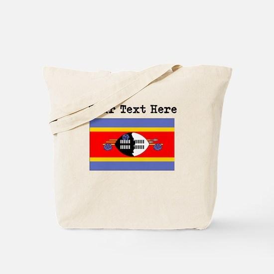 Custom Swaziland Flag Tote Bag