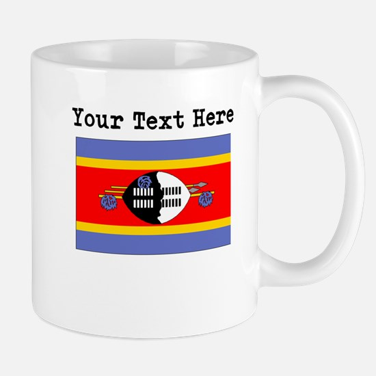 Custom Swaziland Flag Mugs