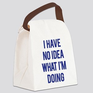I Don't Know... Canvas Lunch Bag