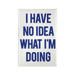 I Don't Know... Rectangle Magnet (10 pack)