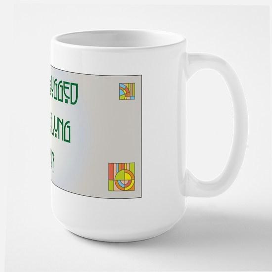 Hugged Nebelung Large Mug