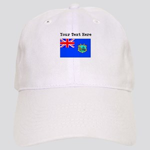 Custom Old St Helena Flag Baseball Cap